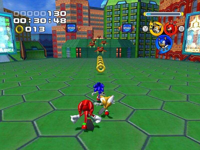 RETRO 'Sonic Heroes', la unión hace la fuerza en esta inolvidable aventura  del erizo - Zonared