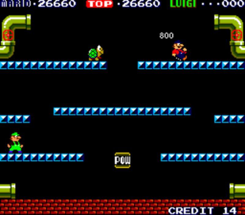 Retro Mario Bros Cuando Mario Y Luigi Encontraron La Puerta Al