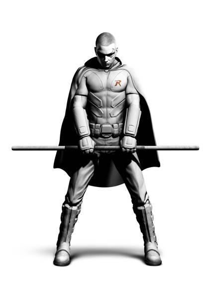 Batman Arkham City - Robin
