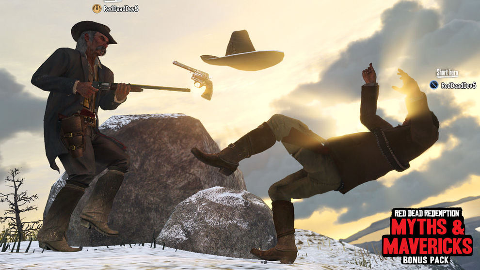 Red Dead Redemption - Mitos y Leyendas