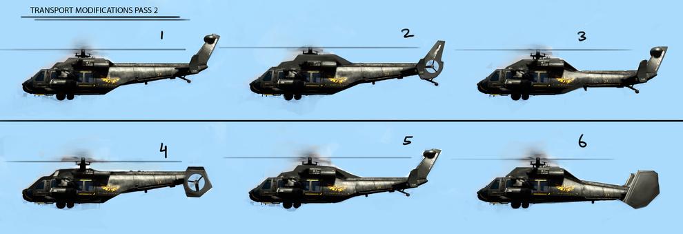 Prototype 2 Helicópteros