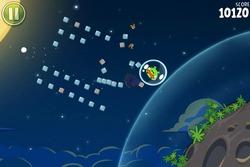 Cerdos en gravedad en 'Angry Birds Space'