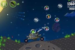Jefe final en 'Angry Birds Space'