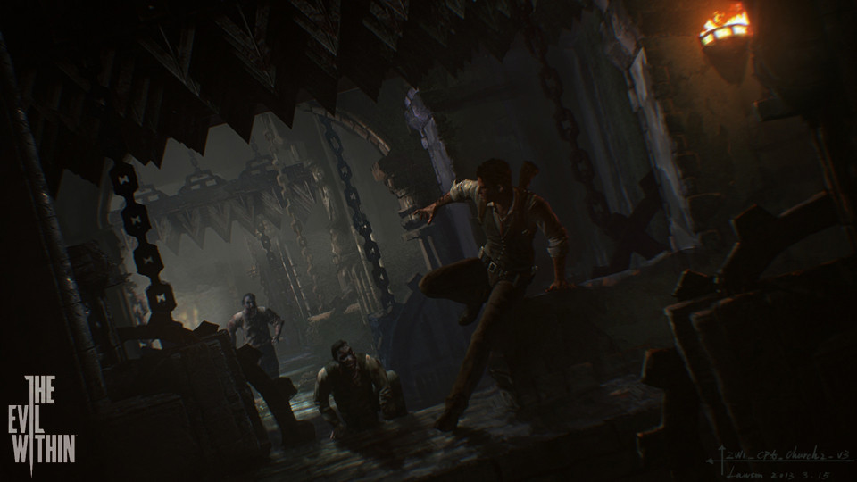 'The Evil Within' Artwork