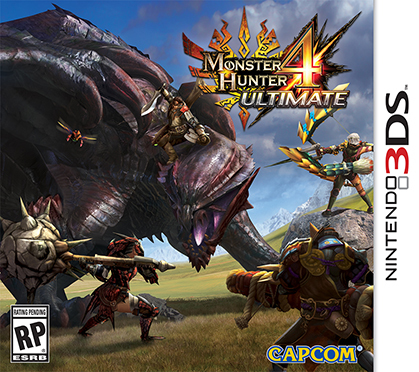 Monster Hunter 4: Ultimate portada