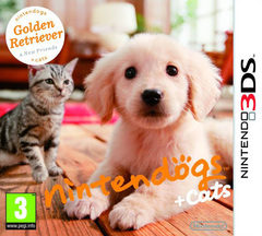 nintendogs + cats: Golden Retriever y sus nuevos amigos