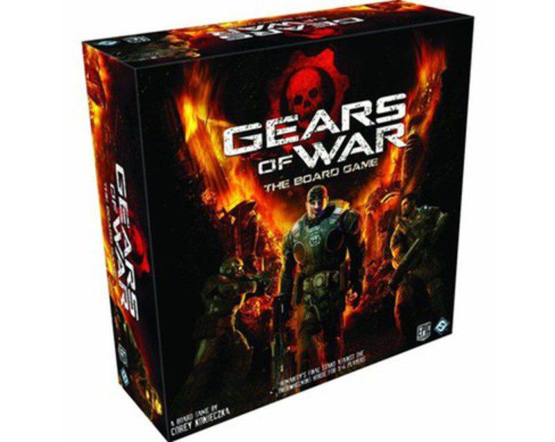De la tele a la mesa zonared for Gears of war juego de mesa