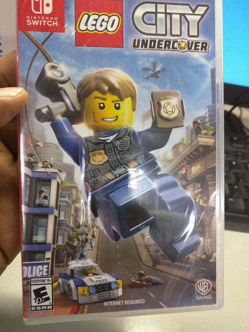 Polemica Con Lego City Undercover En Switch La Edicion Fisica