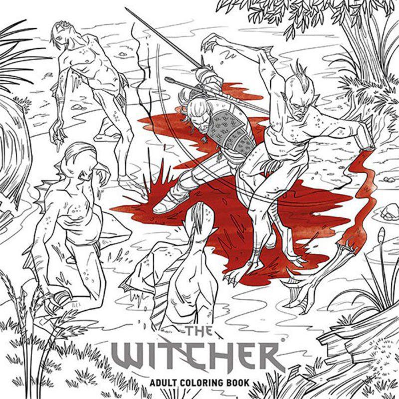 La saga \'The Witcher\' tendrá su propio libro para colorear - Zonared