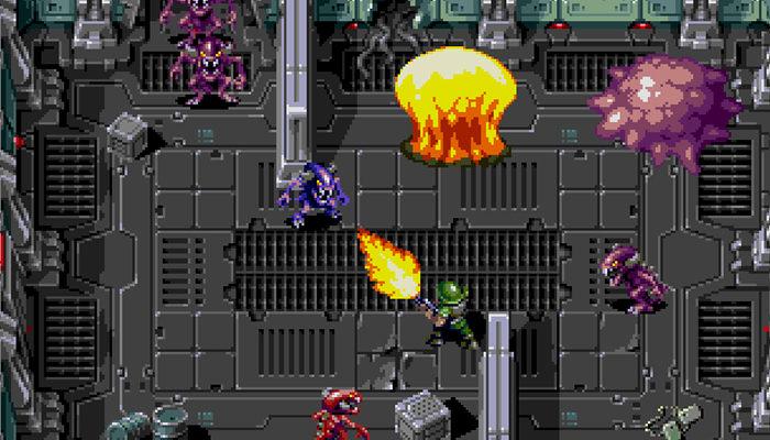 Llega Un Nuevo Juego Para Sega Mega Drive Xeno Crisis Zonared