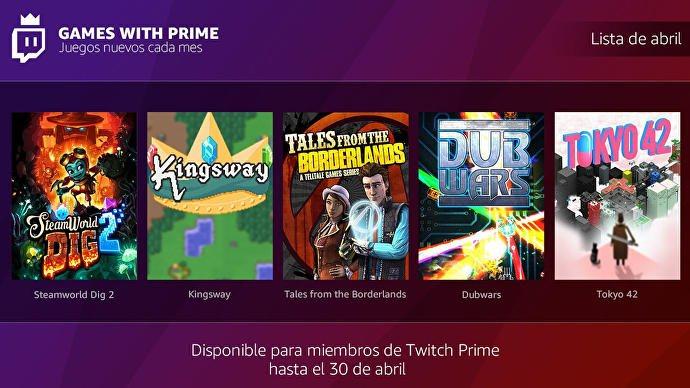 Ya Disponibles Los Juegos Gratuitos De Twitch Prime De Abril Zonared