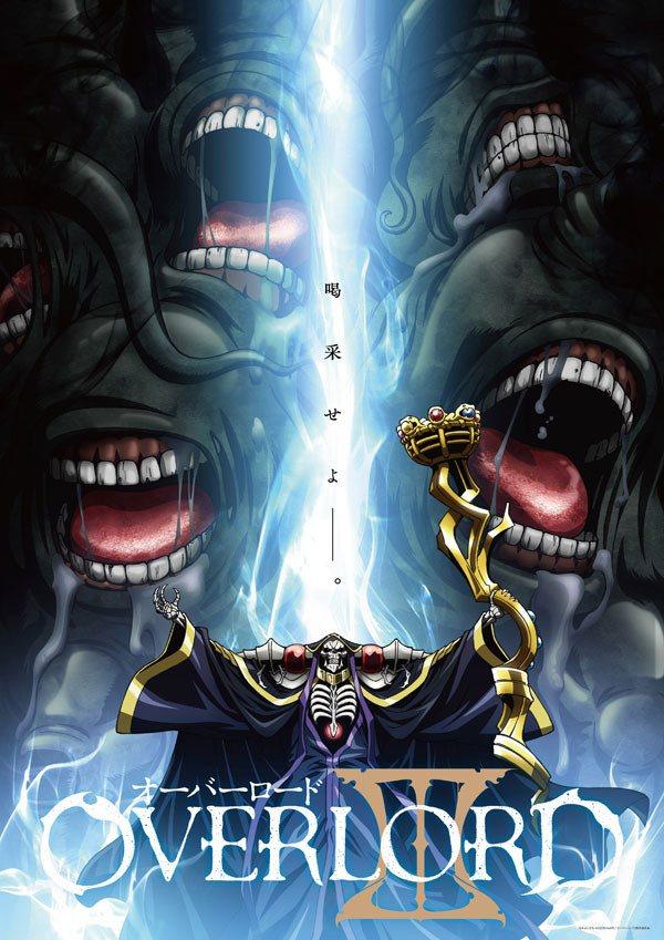 imagen promocional de la tercera temporada de 'Overlord'