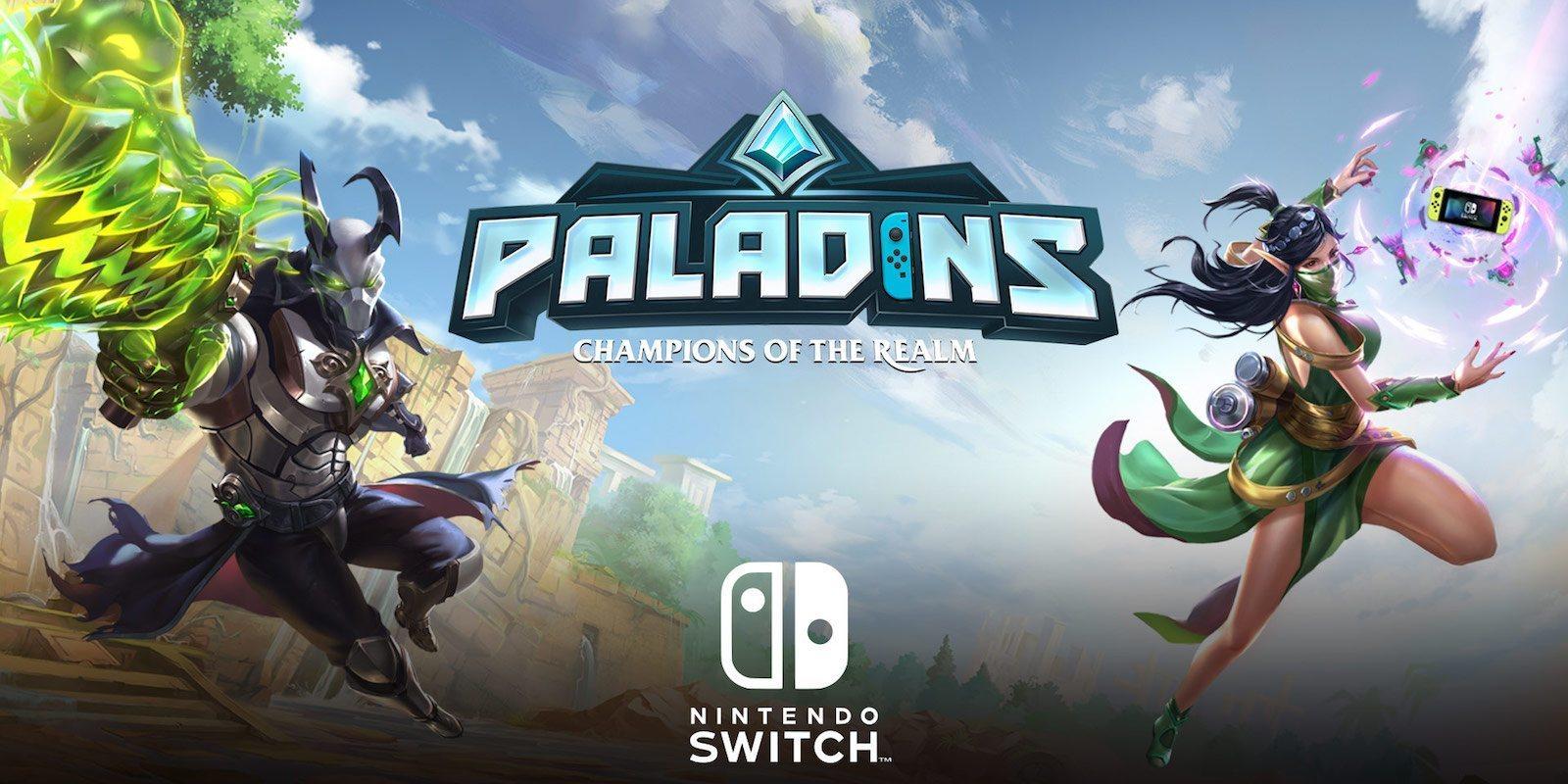 Resultado de imagen de portada Paladins: Champions of the Realm nintendo switch