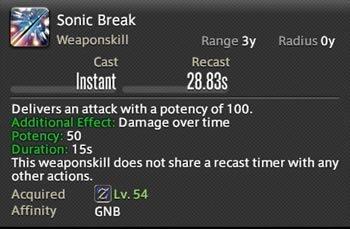 Sonic Break