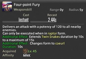 Four-Point Fury