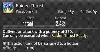 Raiden Thrust
