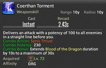 Coerthan Torment